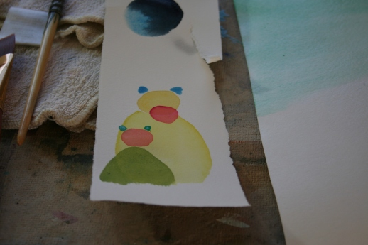 watercolor bears